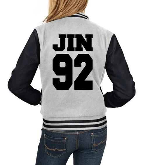 Jaqueta Jin Bts Moletom Jin 92 Kpop Blusa Casaco +brinde