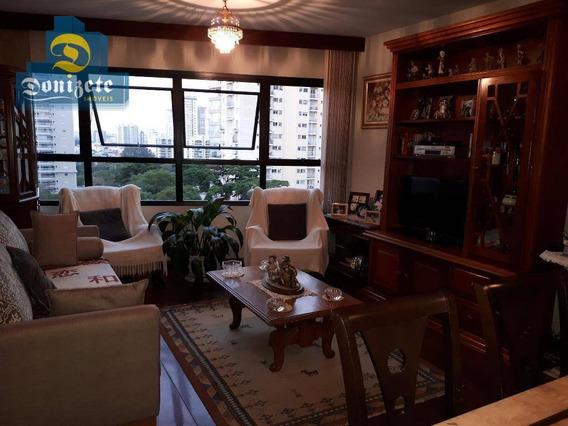 Apartamento Com 3 Dormitórios À Venda, 95 M² Por R$ 450.000,00 - Jardim - Santo André/sp - Ap8446