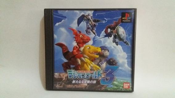 Digimon World 3 - Ps1 - Original Japones