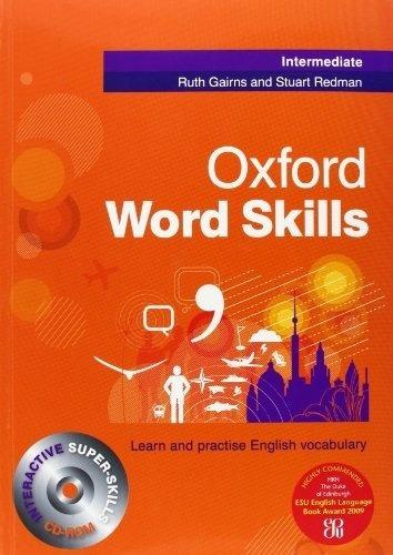 Oxford Word Skills - Intermediate - St W/cd - Ruth, Stuart