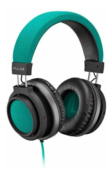 Fone Ouvido Headphone Pulse Auxiliar P2 Ph227 Verde