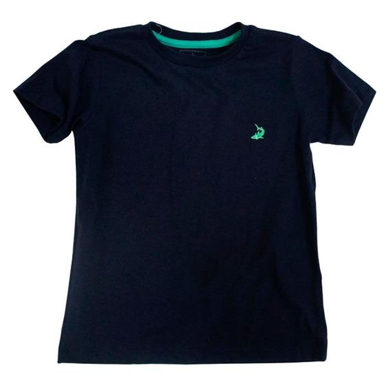 Camiseta Infantil Masculina Manga Curta Squalo S03040146