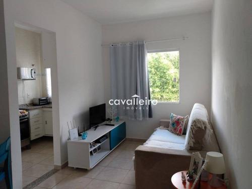 Apartamento Com 2 Dormitórios À Venda, 59 M² - São José De Imbassai - Maricá/rj - Ap0284
