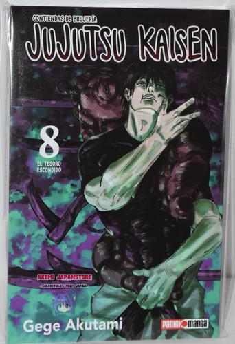 Imagen 1 de 1 de Jujutsu Kaisen # 8 - Panini - Manga