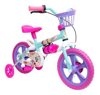 Bicicleta Infanti Feminina Rosal Aro 12 Uni Bike Calesita