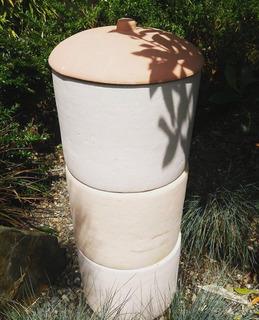 Compostera De Barro 100% Material Natural!