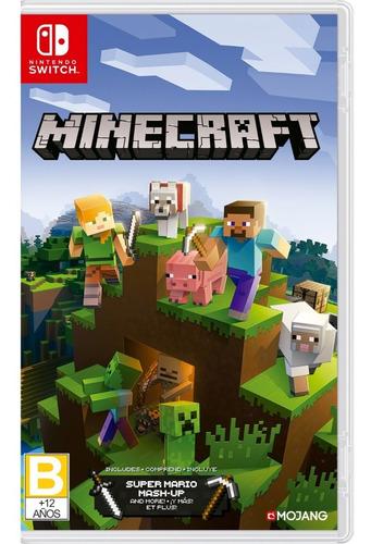 Imagen 1 de 5 de Minecraft  Standard Edition - Nintendo Switch