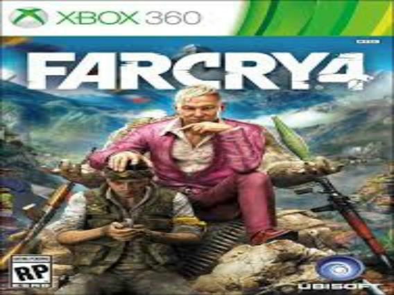 Far Cry 4 Xbox 360 Midia Digital