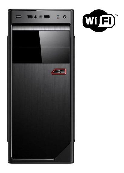 Cpu Dual Core 2.0 4gb Hd 320gb Gravador Wi-fi