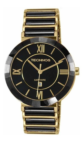 Relógio Technos Feminino Sapphire Original Nota 2015bv/4p