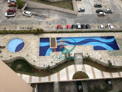 Imagem 1 de 14 de Apartamento À Venda, 56 M² Por R$ 290.000,00 - Jardim Nova Taboão - Guarulhos/sp - Ap1336