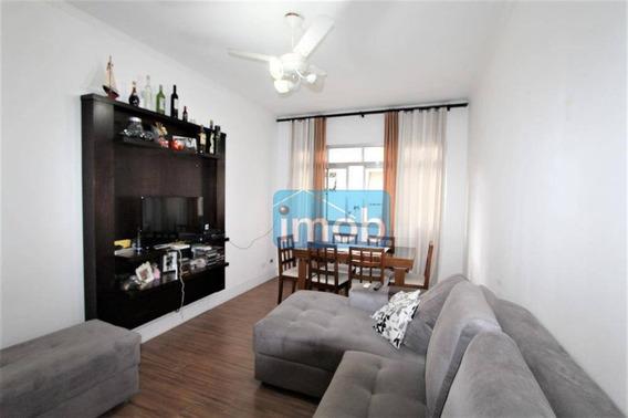 Apartamento Com 2 Dormitórios À Venda, 74 M² Por R$ 320.000,00 - Marapé - Santos/sp - Ap6313