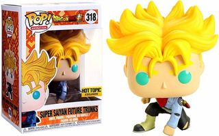 Super Saiyan Future Trunks #318 Funko Pop Nuevo Nextgames