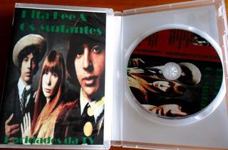 Dvd Rita Lee & Mutantes (raridades) Frete Grátis