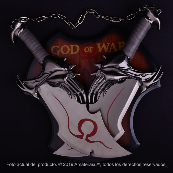 Espadas Del Caos Kratos God Of War Dagas Cuchillos