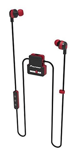 Imagen 1 de 2 de Pionero Ironman Inalambrico Auriculares Deportivos, Rojo Se