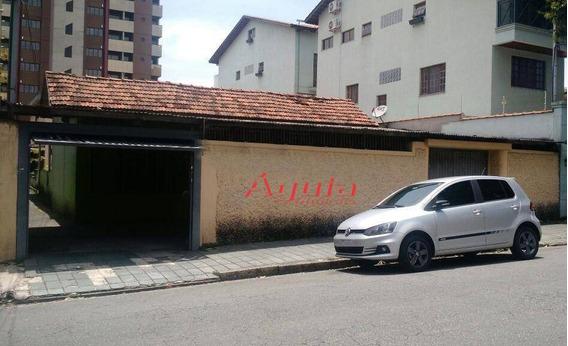 Terreno Residencial À Venda, Vila Alpina, Santo André. - Te0142
