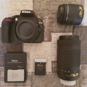 Câmera Nikon D5300 Com Duas Lente