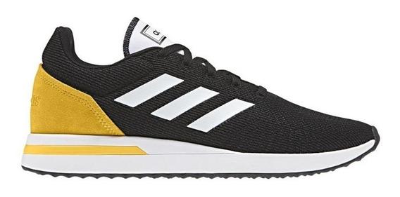 Tênis adidas Run 70s Masculino Preto E Branco-original