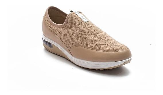 Zapatillas Modare Ultraconforto Mujer Pancha Base Alta Aire