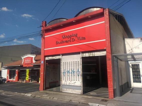 Salão Para Alugar, 35 M² Por R$ 1.000,00/mês - Centro - Guarulhos/sp - Sl0545