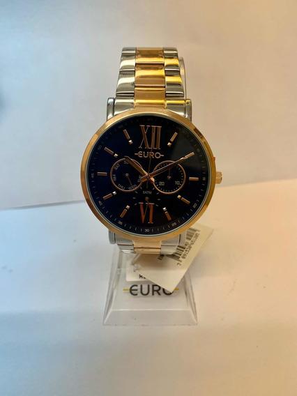 Relógio Euro Feminino Prata Eu6p29ahbbp/5a