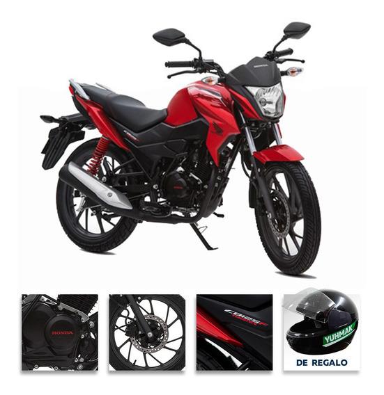 Moto Honda Cb 125 Twister 0km 2020 Roja
