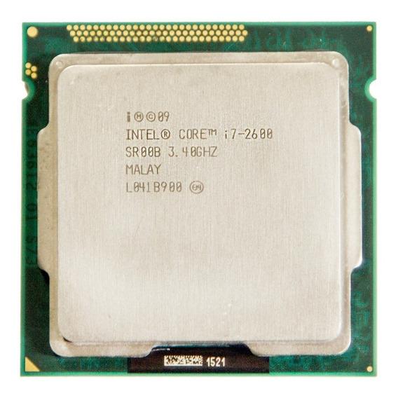 Processador Intel Core I7 2600 1155 3.4-3.8 + Cooler + Pasta