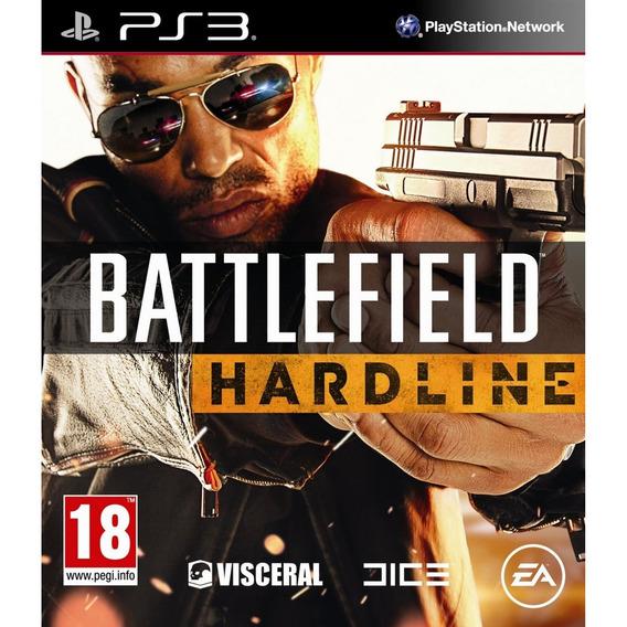Battlefield Hardline Ps3 Mídia Física Lacrado Novo Original