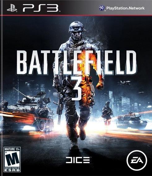 Battlefield 3 Ps3 Midia Fisica (frete Gratis)