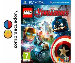 Lego Marvel Avengers Psvita Juego Físico Original Sellado
