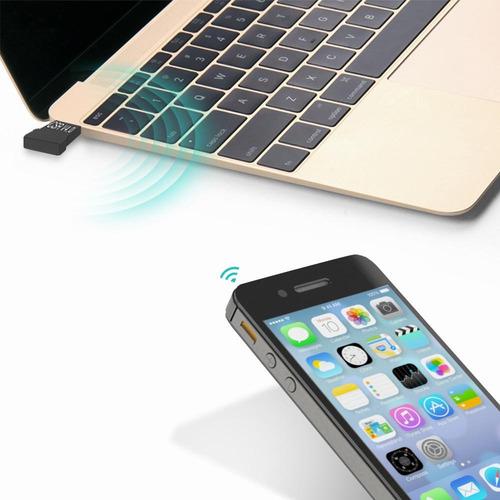 Audio Dongle Transmisor Mini Bluetooth 4.0 Usb 20m Win 10 Pc