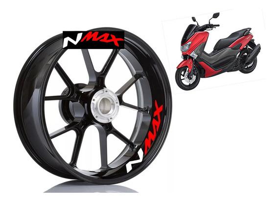 Adesivo Premium Interno Roda Moto Yamaha Nmax N Max 160