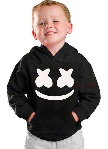 Envio Gratis Sudadera Marshmello Niño Con Capucha Unisex