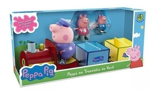 Peppa Pig - Peppa No Trenzinho Do Vovô - Dtc