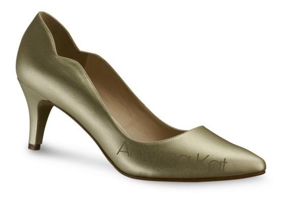 Zapatillas Andrea Bajitas Escote Lateral Elegantes Comodas