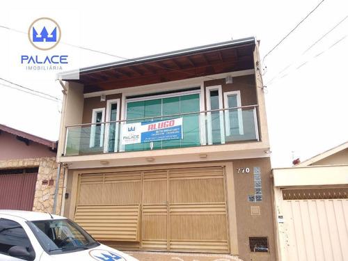 Casa Com 3 Dormitórios Para Alugar, 200 M² Por R$ 3.000,00/mês - Vila Rezende - Piracicaba/sp - Ca0322