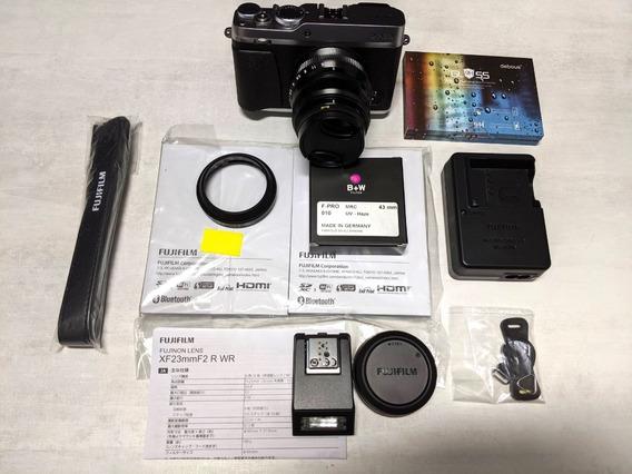 Fuji X-e3 Fujifilm X-e3 Com Lente Xf 23mm F/2 R Wr