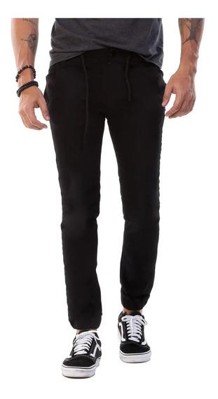 Calça Jeans Masculina Sawary Jogger Jogging Preto Qualidade