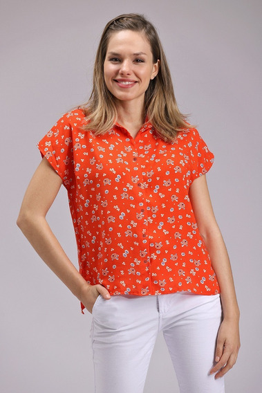 Camisa Mujer Flores Liberty Camisas Estampadas