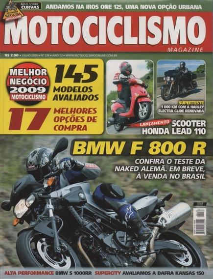 Motociclismo N°139 Bmw F800r Harley Electra Glide Lead 110