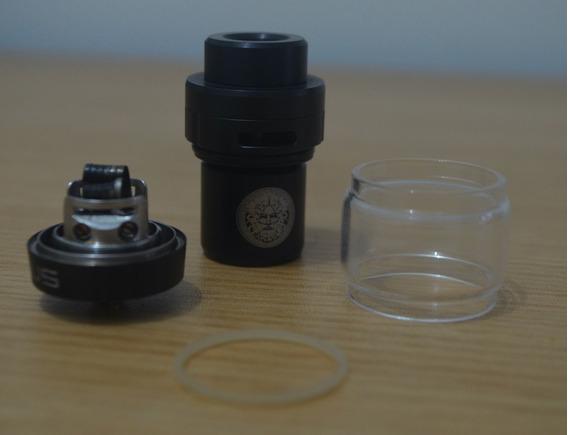 Atomizador Zeus Rta Dual Original 5,5ml