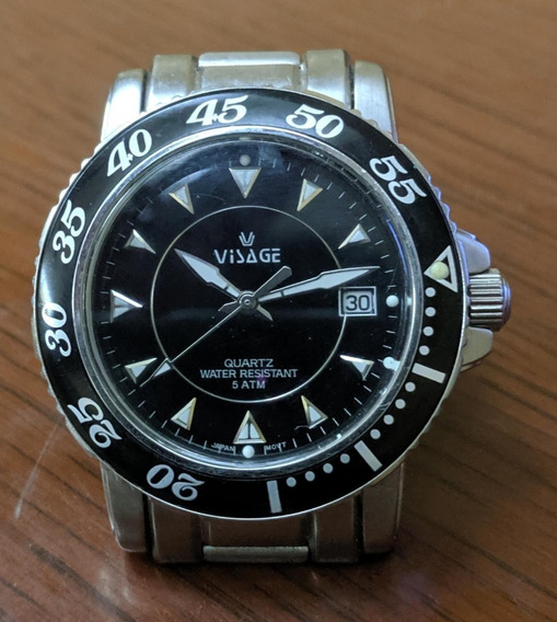 Reloj Visage De Acero Inoxidable Para Caballero