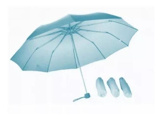 6 X Paraguas Sombrilla De Cartera Variados Al Mayor Y Detal