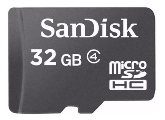 Cartão De Memória 32gb - Sandisk Com Adaptador + Brinde