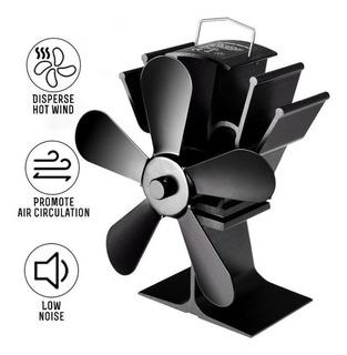 Ventilador Estufa Leña 5 Aspas Sin Electricidad Nuevo 2020