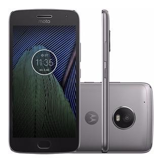Motorola Moto G5 Plus 32gb Xt1683 Tv 4g Tela 5.2 Vitrine