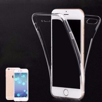 ce2a4e4bc9f Funda Protector 360° Transparente Apple iPhone 6/6s - $ 180.00 en Mercado  Libre