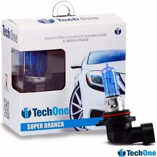 Par Lampada 8500k Super Branca Tech One H1 H3 H4 H7 Hb3 Hb4