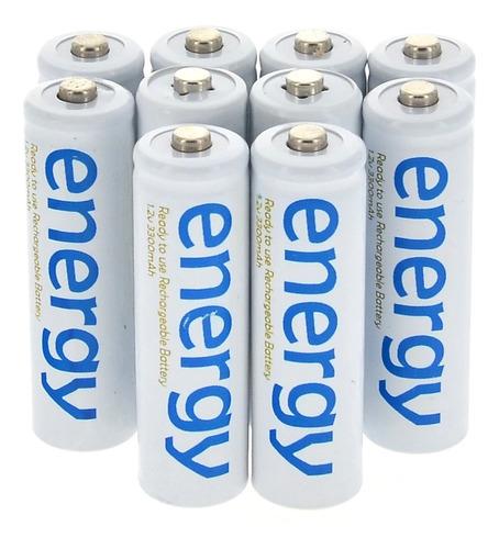 Energy Baterias Recargable Aa Aaa 3300mah/2000mah 1.2v Ni Mh